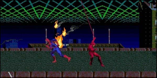 Spiderman: Web of Fire (1996)