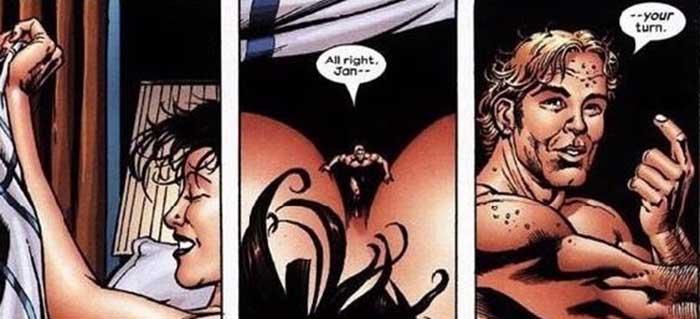 Секс Человека-Муровья и Осы