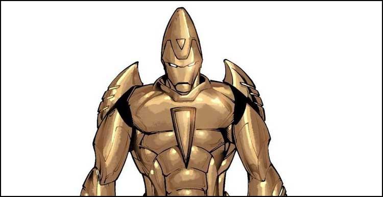 броня железного человека
