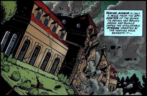 События в комиксах DC: Ничья Земля