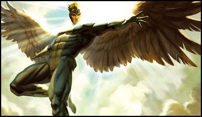 Ангел Люди икс история
