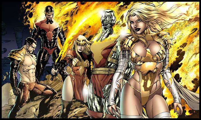 Мстители против Людей-Икс