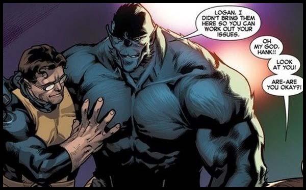 Зверь Люди Икс комиксы