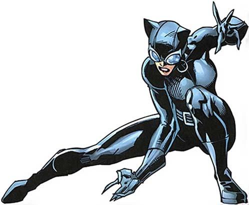Женщина-Кошка история DC
