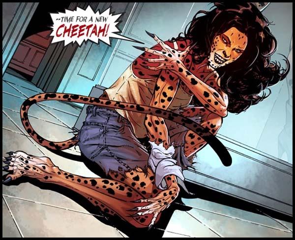 Гепардица DC Comics комиксы