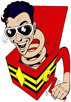Пластичный Человек DC комиксы