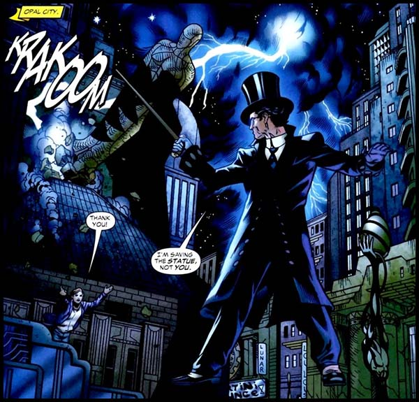 Мрак DC комиксы