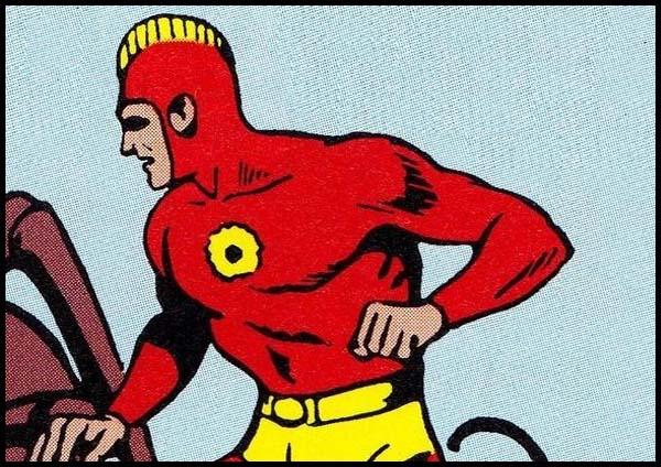 Алый Мститель комиксы DC