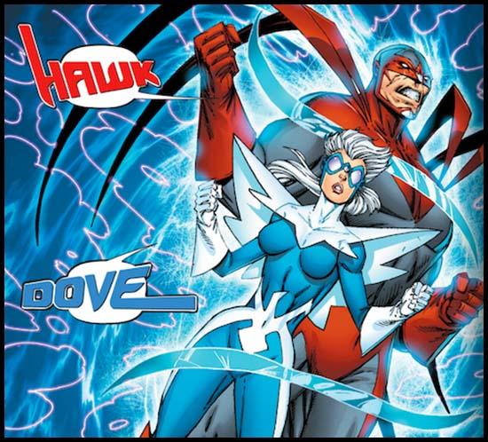 Орёл и Голубь комикс DC