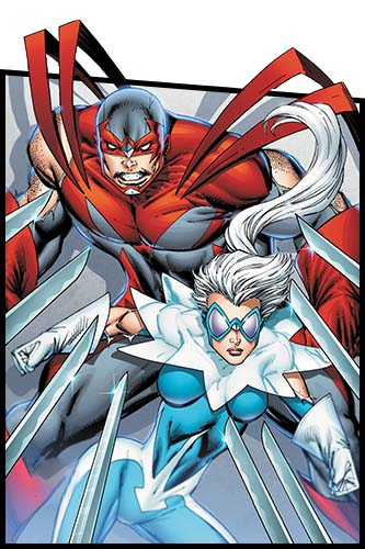 Орёл и Голубь комиксы DC