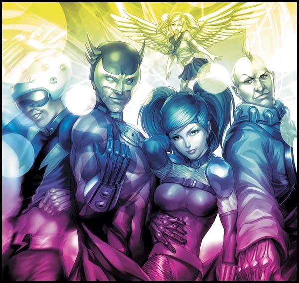 супергеройские команды марвел
