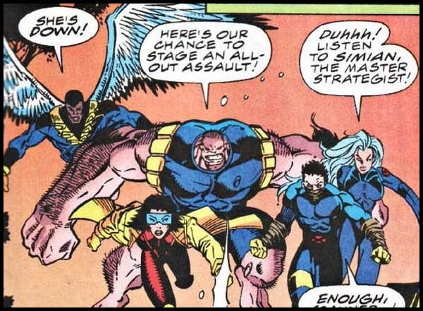 Земля-982 комикс