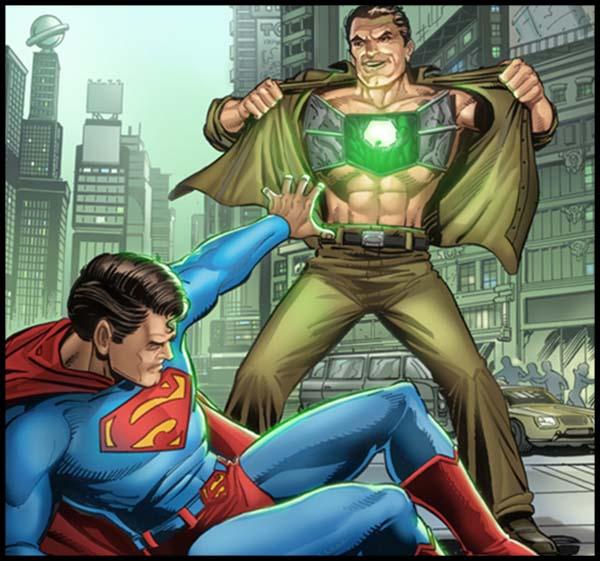 Металло и Супермен DC комиксы