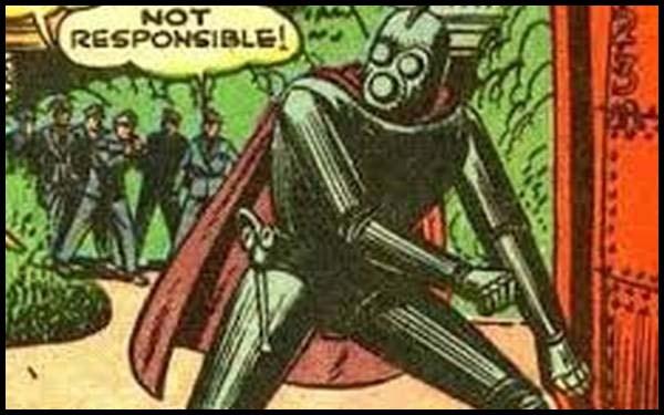 Металло DC комиксы