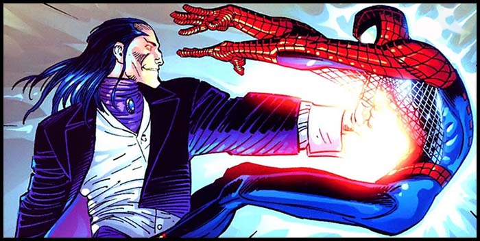 Морлан и Человек-Паук комикс