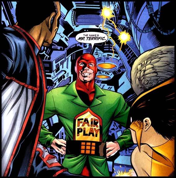 Мистер Террифик (Терри Слоан) комиксы DC