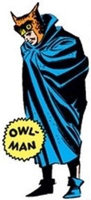 Оулмен Человек-Сова комиксы