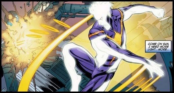 Луч комиксы история DC New 52