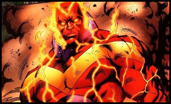 Красный Вулкан комиксы DC