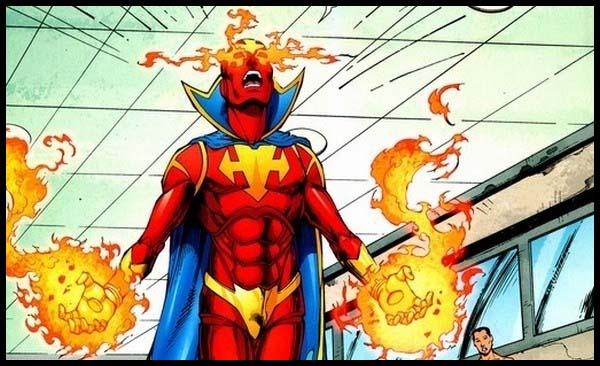 Красный Инферно комиксы DC