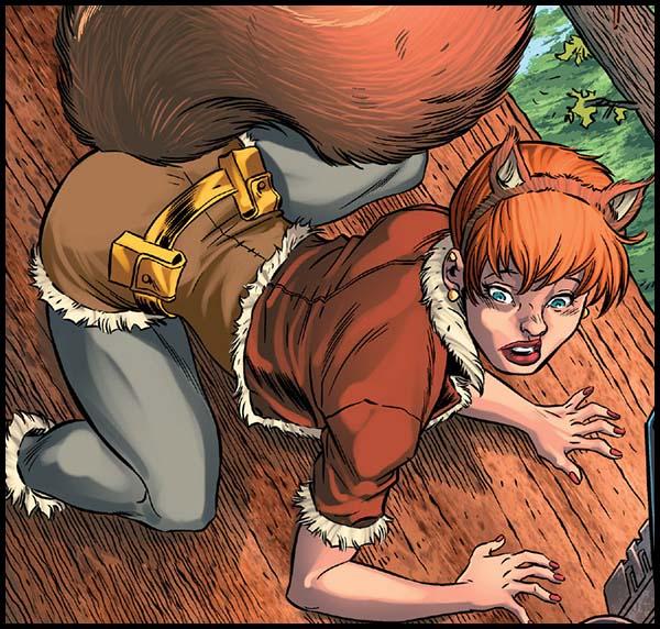 Девушка-Белка комикс