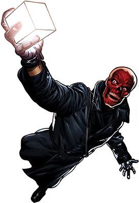 Красный Череп марвел комикс