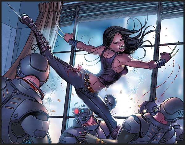 X-23 история биография марвел комикс