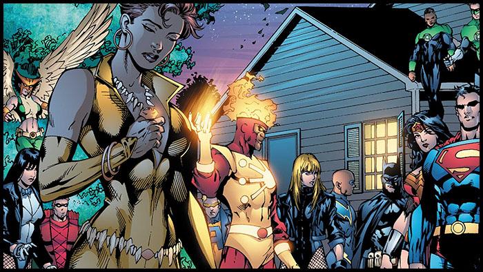 Виксен комиксы Лига Справедливости