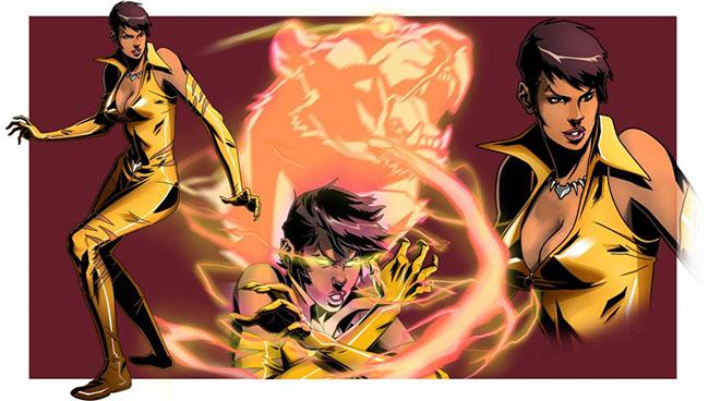 Лисица комиксы DC