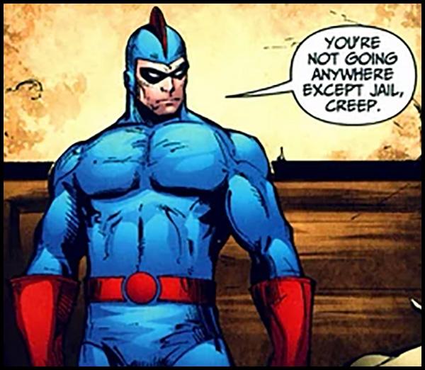 Синий Жук Дэн Гарретт, синий жук комиксы, синий жук dc
