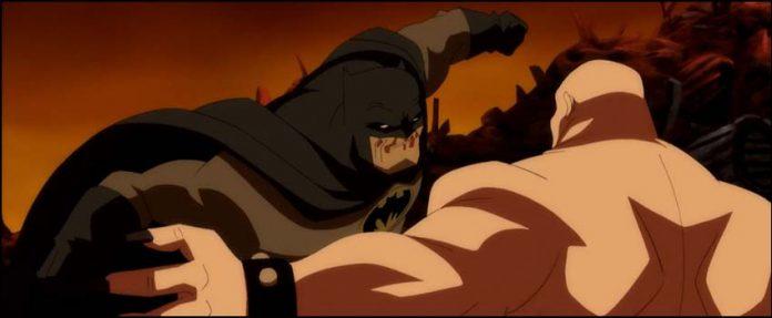 мультик 2012 2013 Бэтмен: Возвращение Тёмного Рыцаря Batman The Dark Knight Returns