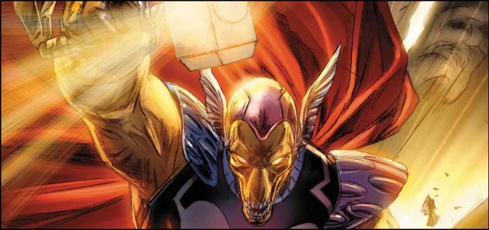 Beta Ray Bill marvel супергерои Бета Рэй Билл