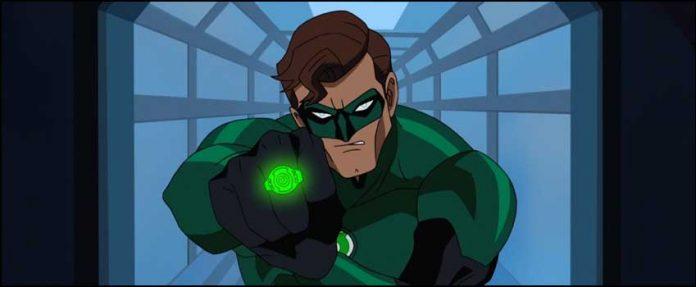 мультик супергерой Зелёный Фонарь: Первый полёт Green Lantern First Flight