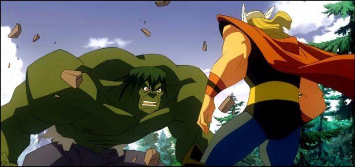 Hulk vs Thor 2009 Халк против Тора