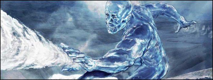 Человек-лед Iceman Люди Икс Марвер Икс-Мэны