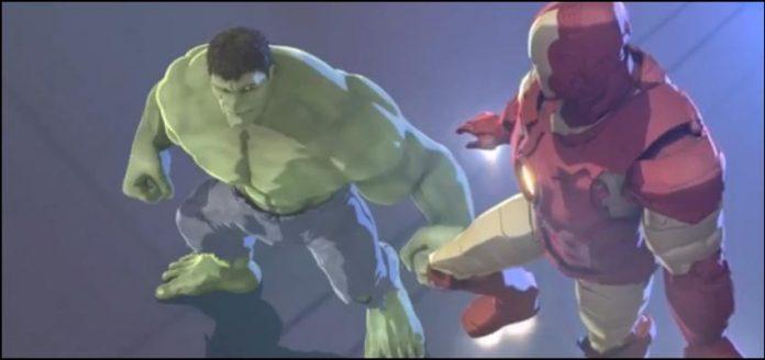 marvel анимация Железный Человек и Халк: Союз Героев Iron Man and Hulk Heroes United