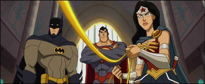 мультфилмы Лига Справедливости: В ловушке времени JLA Adventures Trapped in Time