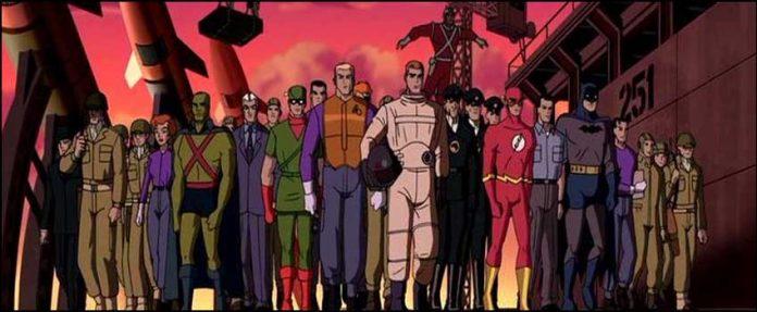 DC Comics комиксы супергерои Лига справедливости: Новый барьер Justice League The New Frontier