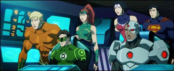 анимационная вселенная DC