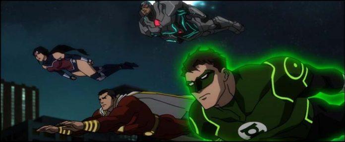 Justice League War Лига Справедливости: Война мультфильмы DC