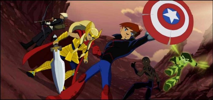 Новые Мстители: Герои завтрашнего дня Next Avengers Heroes of Tomorrow лучшие мультики марвел комиусы супергерои