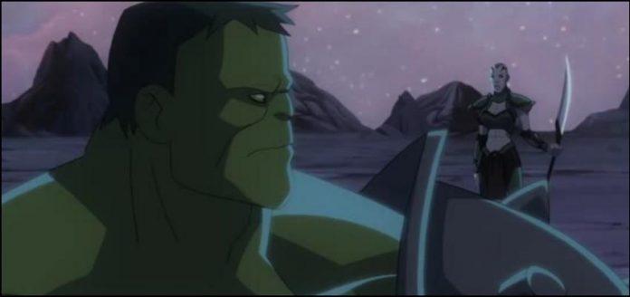 Planet Hulk Планета Халка марвел мультик