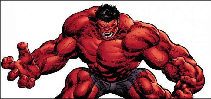 Мьёльнир Red Hulk марвел marvel Красный Халк