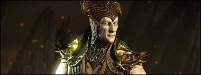 Shinnok Шиннок сильнейшие персонажи мортал комбат