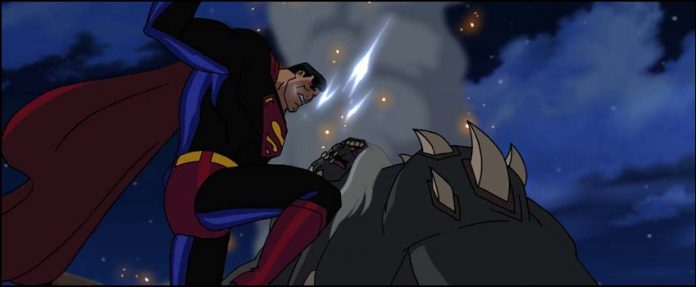 Superman Doomsday человек из стали мультик Супермен: Судный день