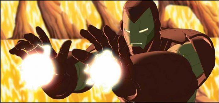 The Invincible Iron Man Несокрушимый Железный Человек супергерои марвел мультфильмы