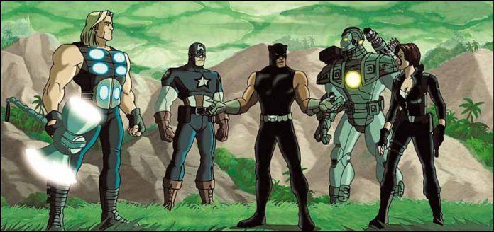 Ultimate Avengers 2 Новые Мстители 2 / Несокрушимые мстители 2 супергерои Marvel марвел