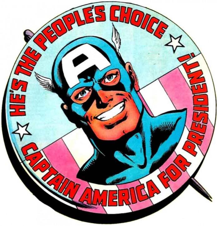 Президент Капитан Америка
