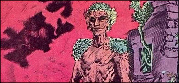 Джейсон Вудру DC Comics Растительный Человек