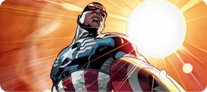 Сокол новый Капитан Америка Marvel